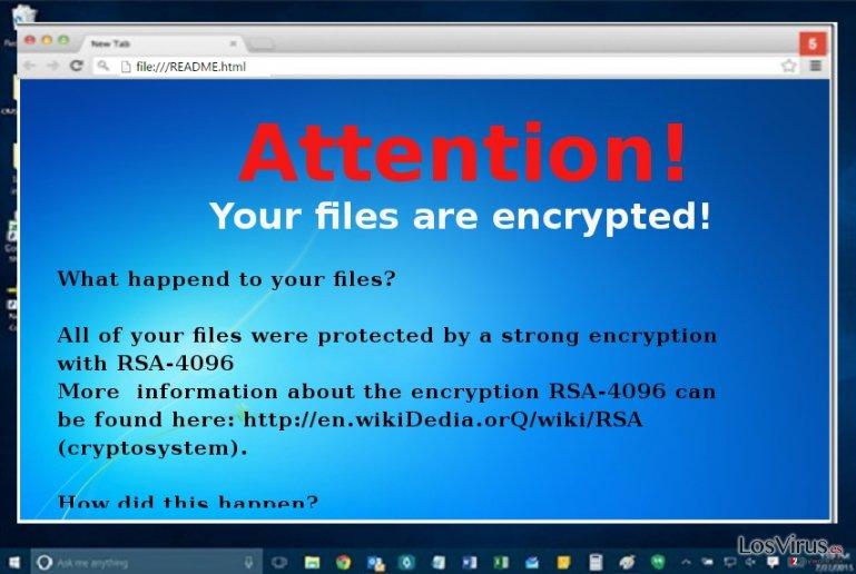 El virus ransomware Microsoft Decryptor