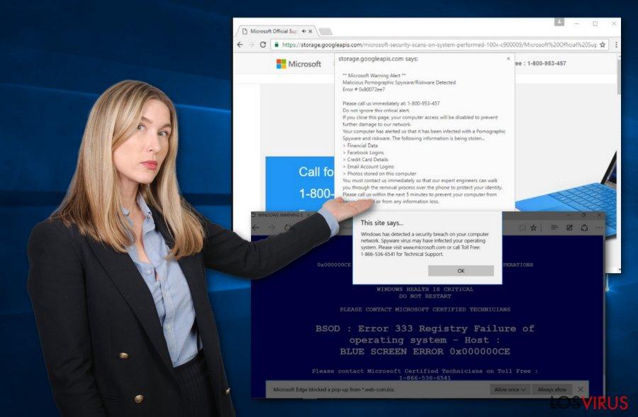 Virus Microsoft
