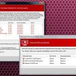 Microsoft Security Essentials Alert virus foto