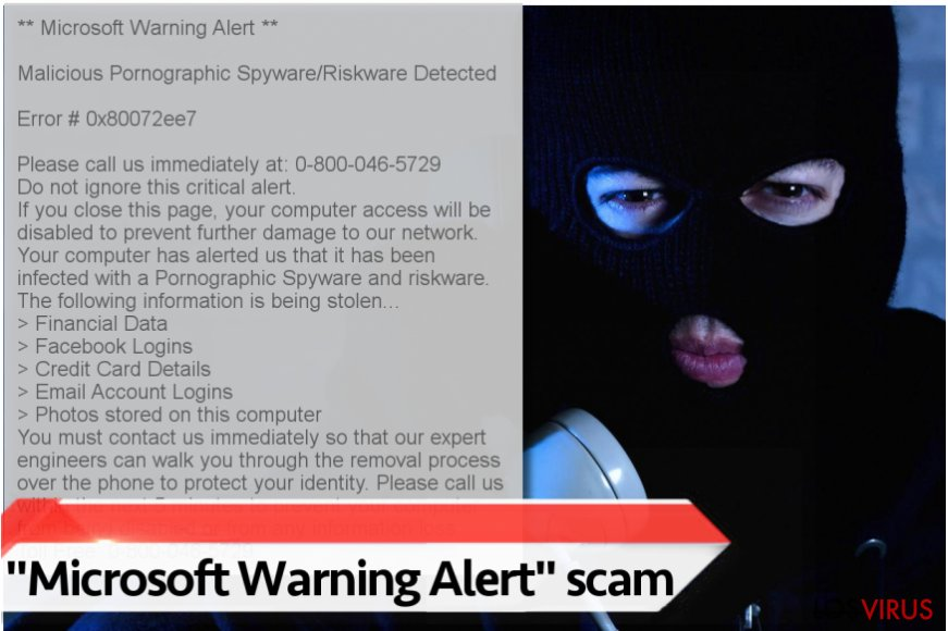 "Virus ""Microsoft Warning Alert"""