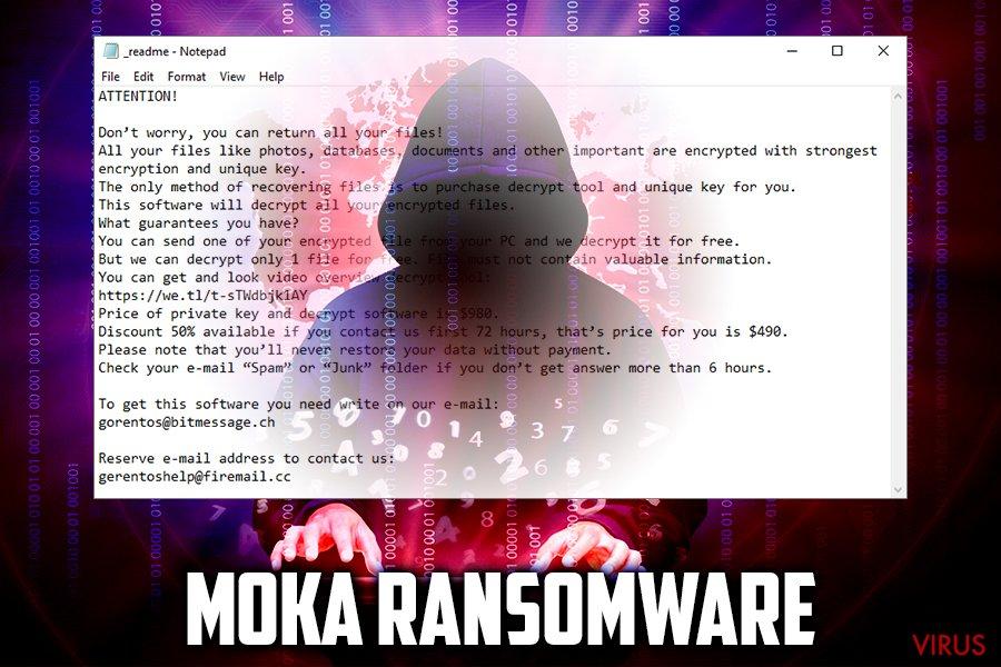 Ransomware Moka