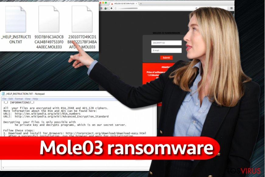 Virus extensión de archivo .mole03