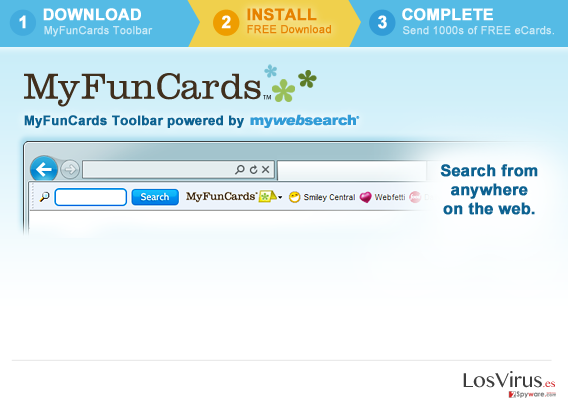 MyFunCards Toolbar foto