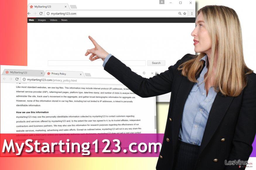 Virus Mystarting123.com