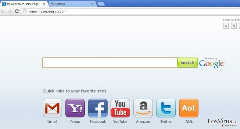 mywebsearch.com foto