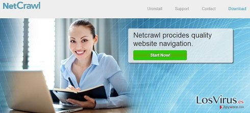 Los anuncios de NetCrawl foto