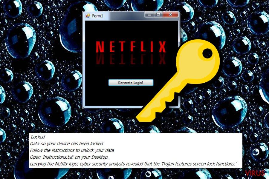 Ransomware Netflix