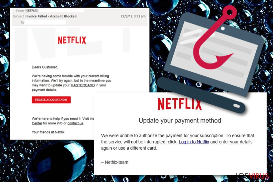 Estafa email Netflix