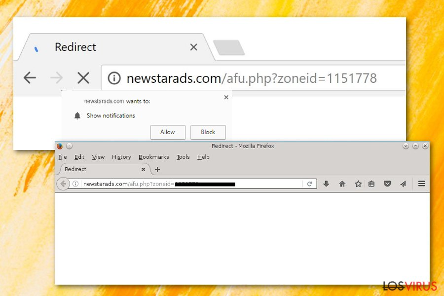 Adware Newstarads.com