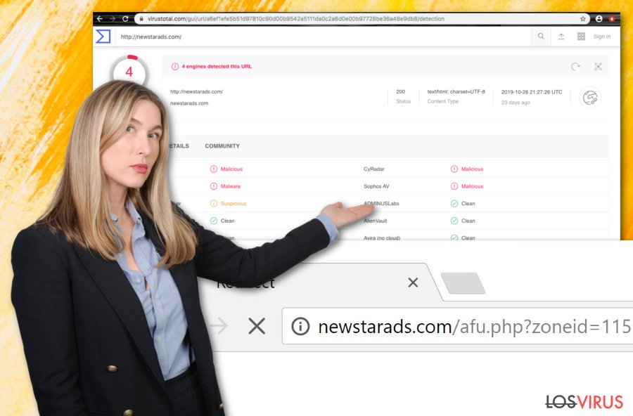 Virus Newstarads.com