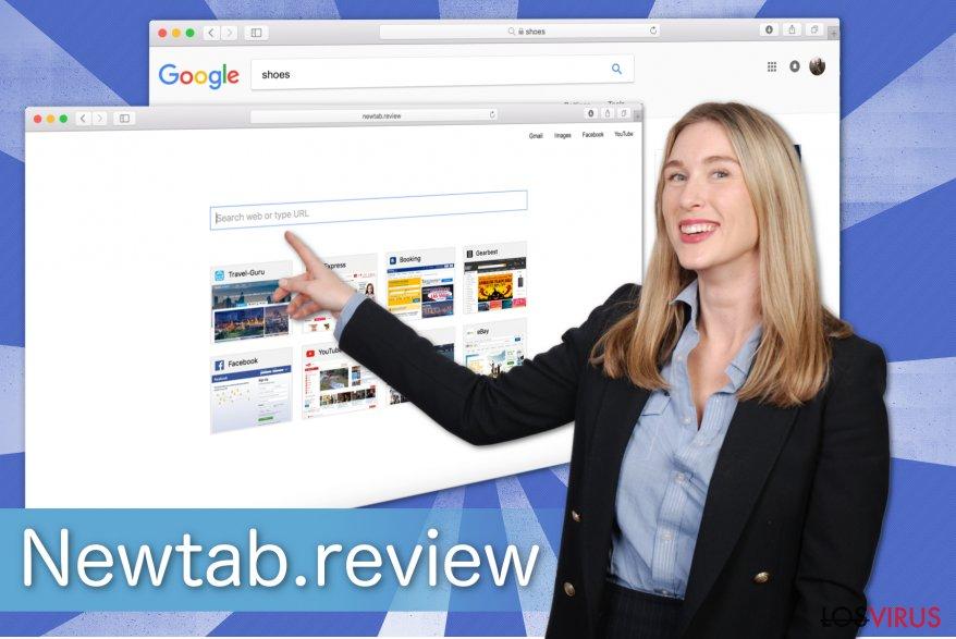 Ilustración de Newtab.review
