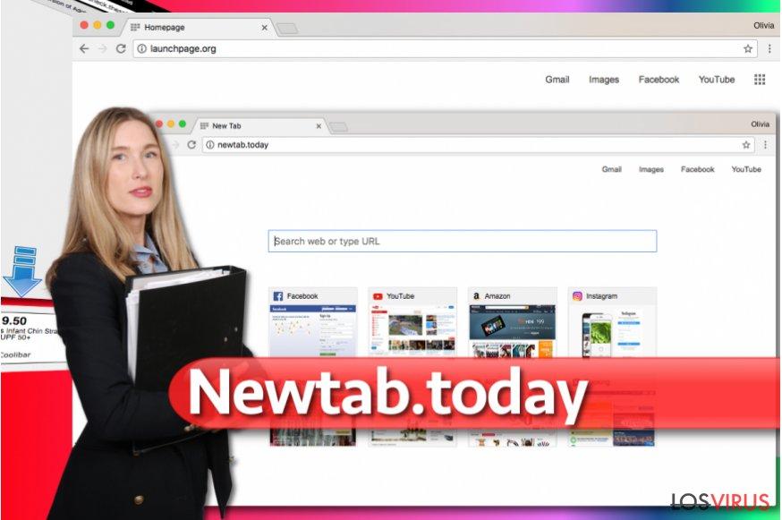 Imagen del virus Newtab.today