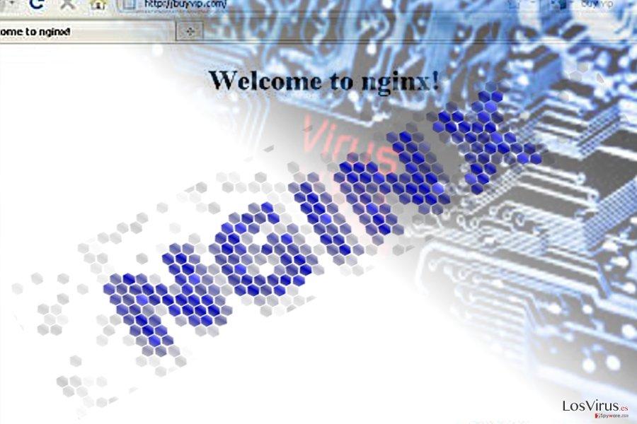 La imagen que ilustra el malware Nginx