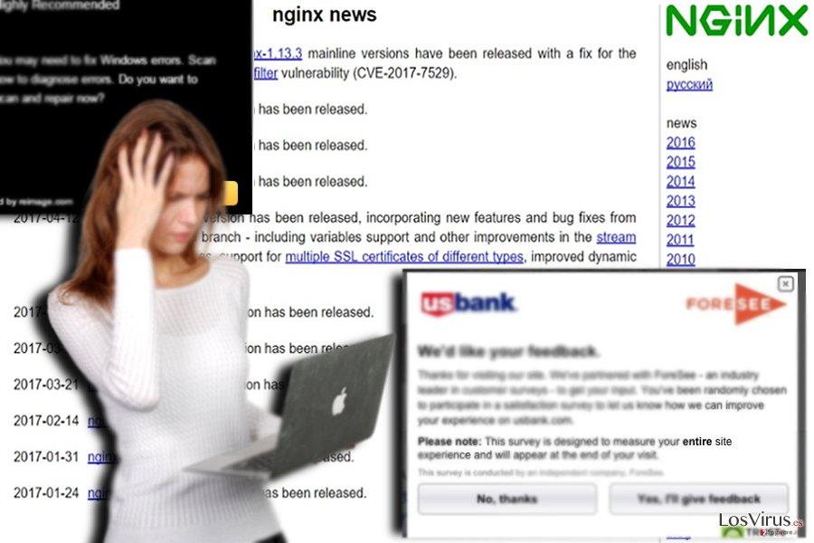 Un ejemplo de una web afiliada - nginx.org