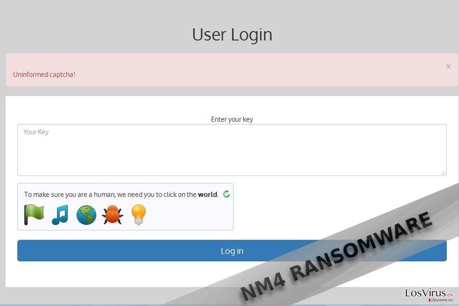 NM4 virus example