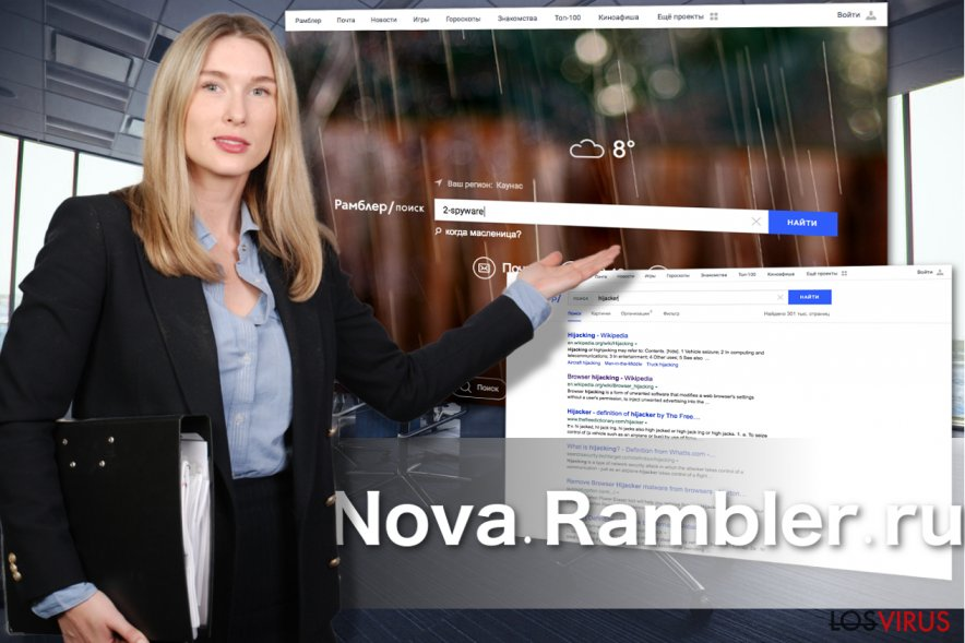 Apariencia de Nova Rambler