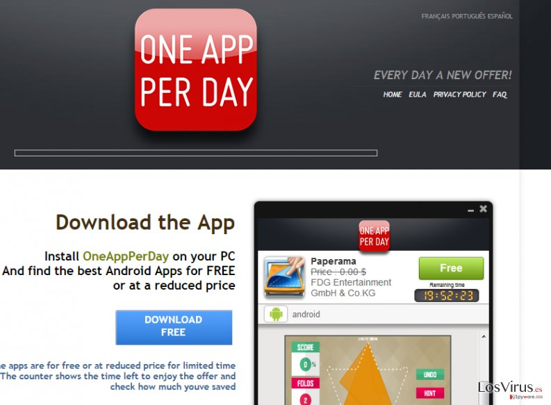 OneAppPerDay foto