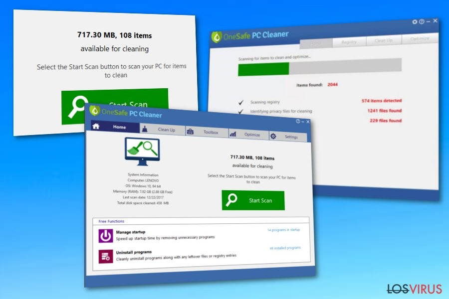 OneSafe PC Cleaner foto