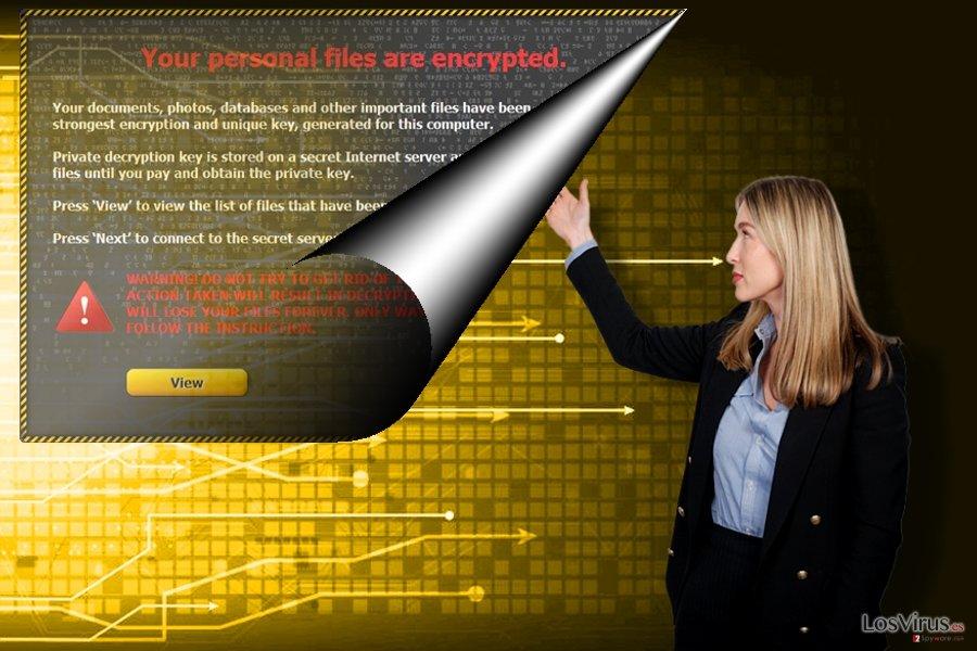 El virus ransomware Gebdp3k7bolalnd4.onion
