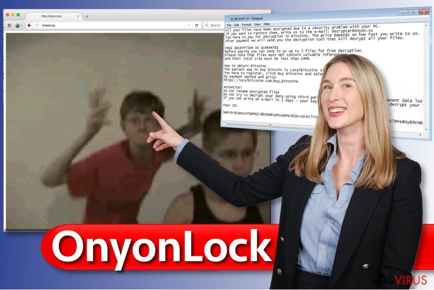 Virus ransomware OnyonLock