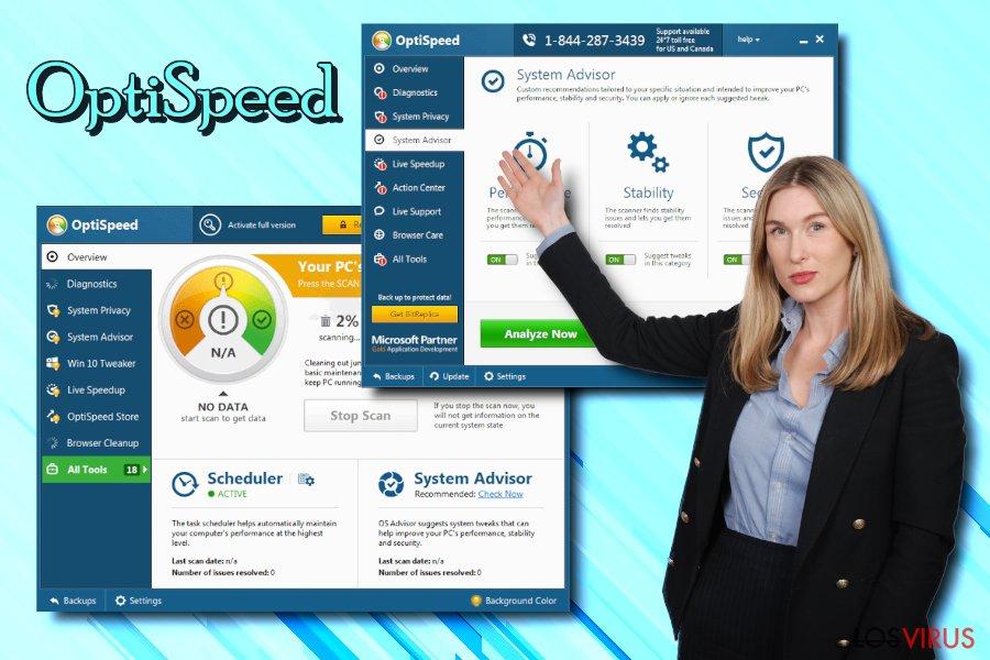 Virus OptiSpeed