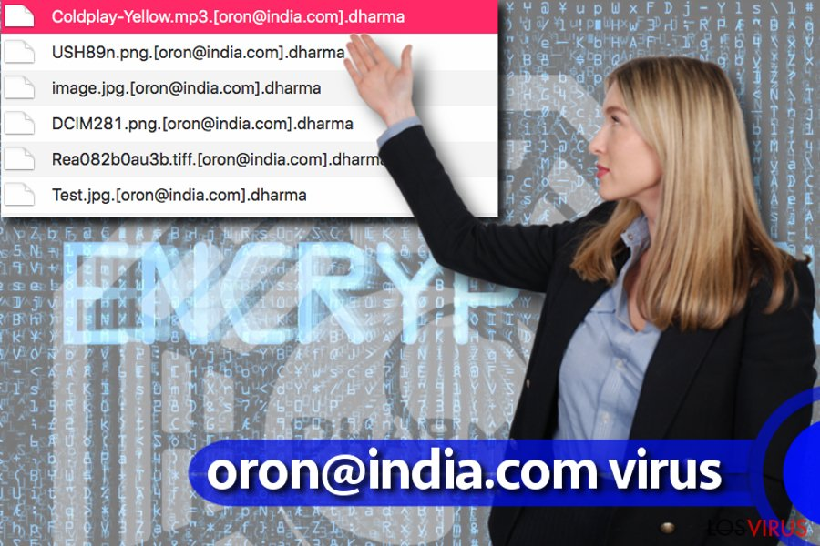 Virus ransomware oron@india.com