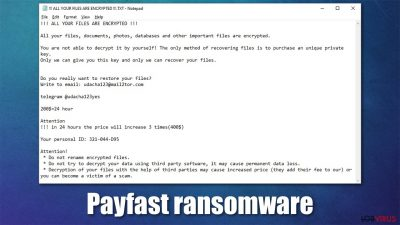 Ransomware Payfast