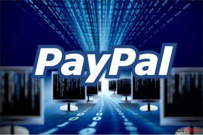 Imagen del virus PayPal