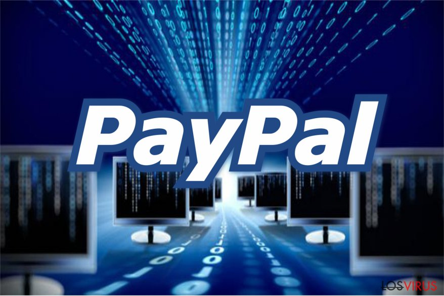 PayPal virus image