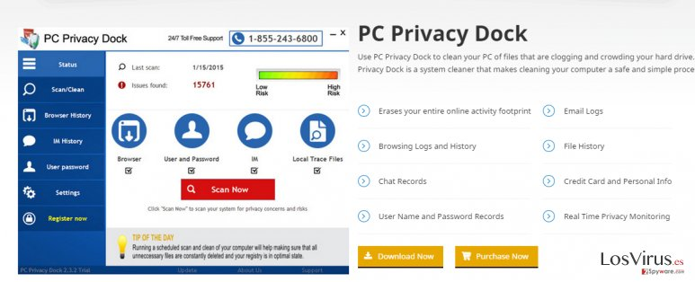 PC Privacy Dock foto