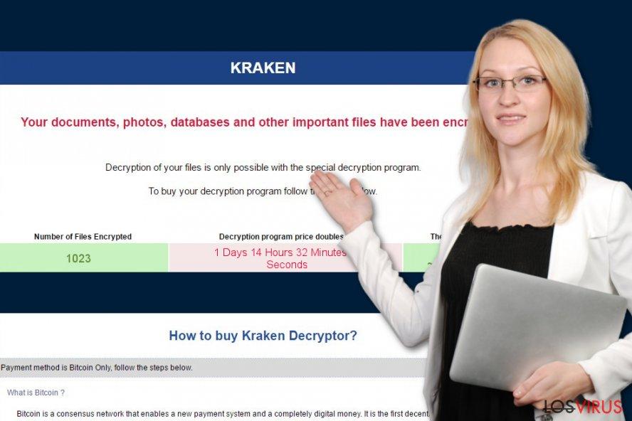 Kraken ransomware virus