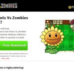 Plants Vs Zombies adware foto