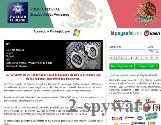 Policia Federal Mexico virus foto