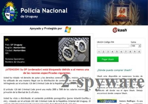 Policia Nacional De Uruguay virus foto