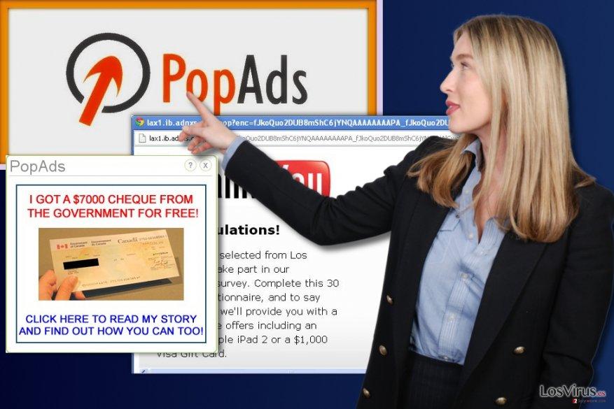 Publicidad de PopAds