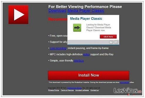 El virus PremiumPlayerUpdates.com foto