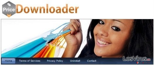 El adware PriceDownloader foto