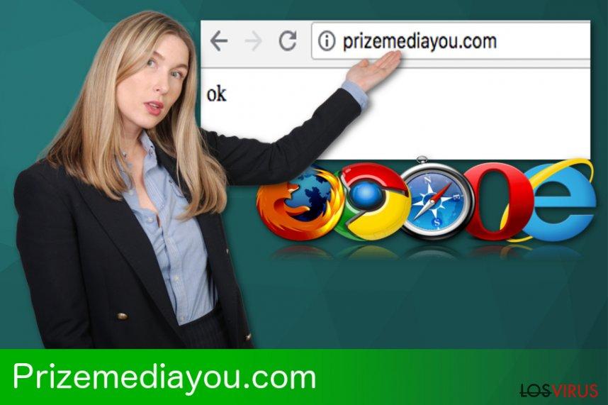Redirecciones de Prizemediayou.com