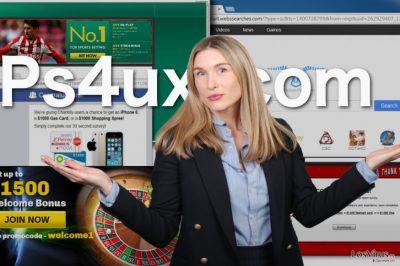 Ilustración del virus Ps4ux.com