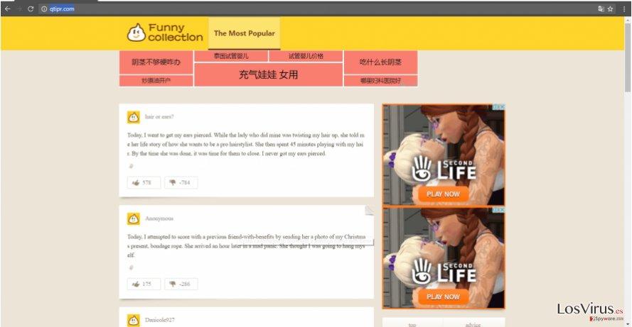 Ejemplo de Qtipr.com