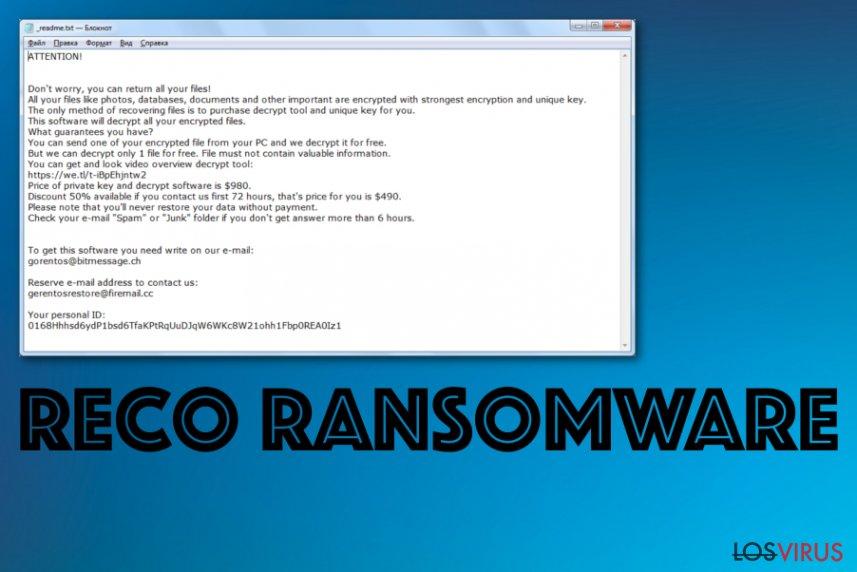 Ransomware Reco
