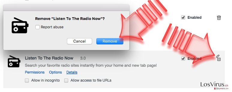 Cómo eliminar Search.searchlttrnow.com de Chrome