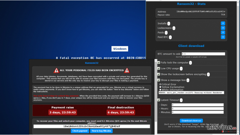 JS.Crypto Ransomware infection