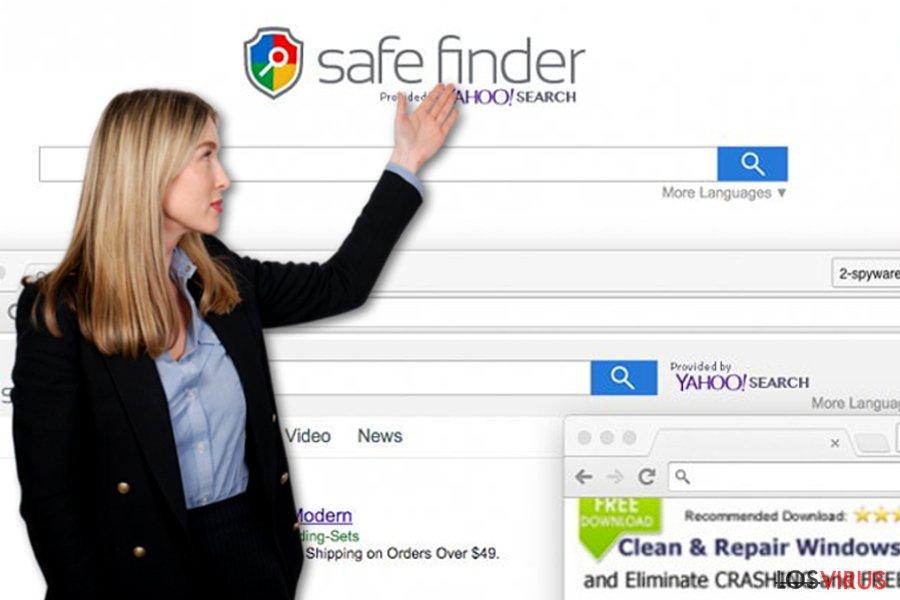 El virus Safe Finder