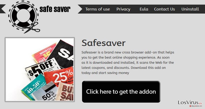 El virus Safe Saver foto