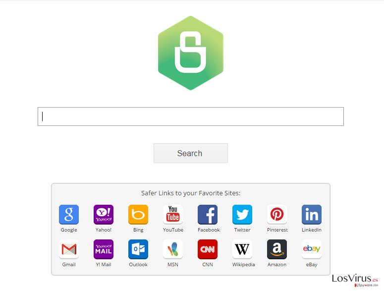 El virus Safer Browser foto