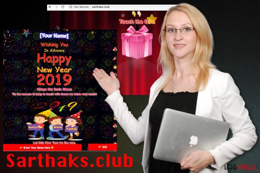 Adware Sarthaks.club