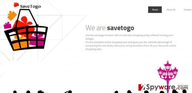 Los anuncios de SaveTogo foto