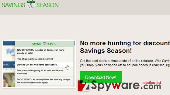 Los anuncios de Savings Season foto