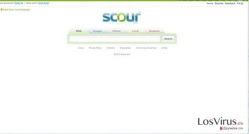 El virus Scour foto